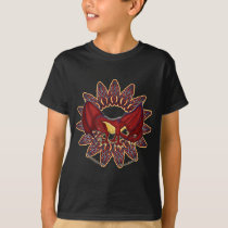 Welsh dragon knotwork kid's t-shirts