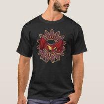 Welsh dragon knotwork men's t-shirts