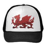 Welsh Dragon Mesh Hat