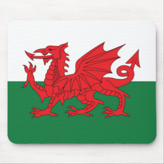 Welsh Dragon Mouse Mat Mouse Pad