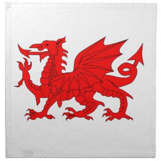 Welsh Dragon Napkin