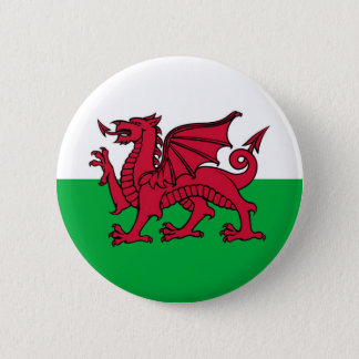 Welsh Dragon Pinback Button