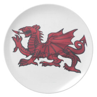 Welsh Dragon Plate