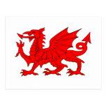 Welsh Dragon Post Card