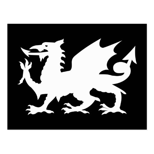 Welsh Dragon Post Cards