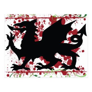 Welsh Dragon Postcards