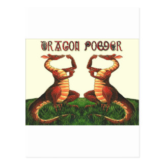 Welsh Dragon Power Postcard