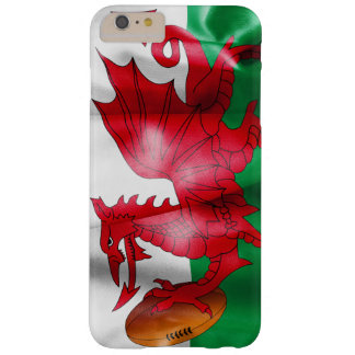 Welsh Dragon Rugby Ball Flag Barely There iPhone 6 Plus Case