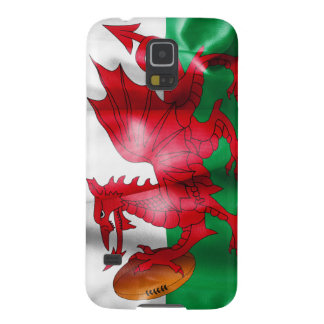 Welsh Dragon Rugby Ball Flag Case For Galaxy S5