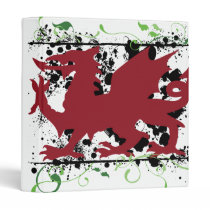 Welsh Dragon School Binder