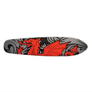 Welsh Dragon Skateboard Deck