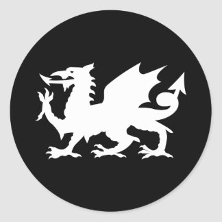 Welsh Dragon Sticker