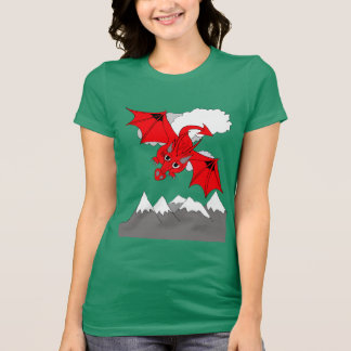 Welsh dragon T shirt