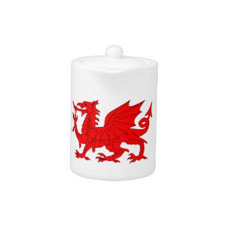 Welsh Dragon Teapot