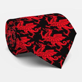 Welsh Dragon Tie