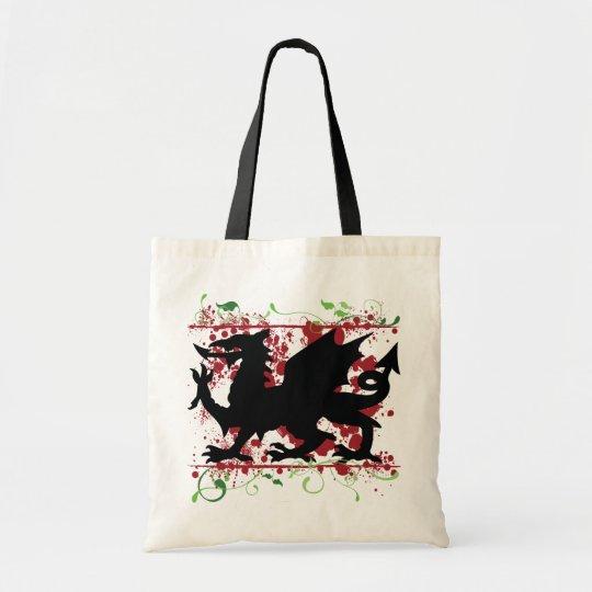 Welsh Dragon Tote Bag