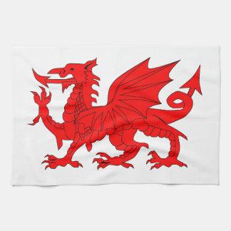Welsh Dragon Towels