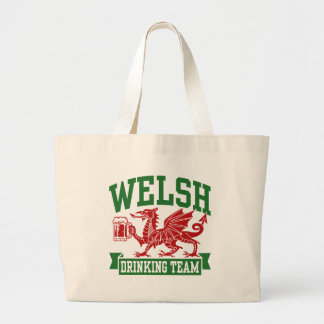 Welsh Drinking Team Canvas Bag