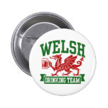 Welsh Drinking Team Button