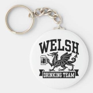 Welsh Drinking Team Keychain
