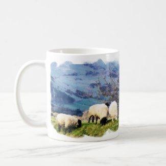 WELSH FARM GIRLS - SHEEP UK mug