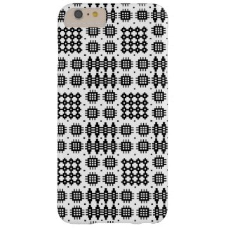 Welsh Faux Tapestry Black White iPhone 6 Plus Case