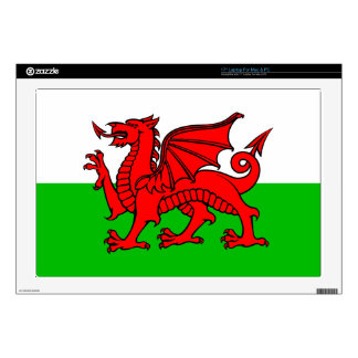 """Welsh-Flag 17"""" Laptop Decal"""