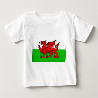 Welsh-Flag Baby T-Shirt