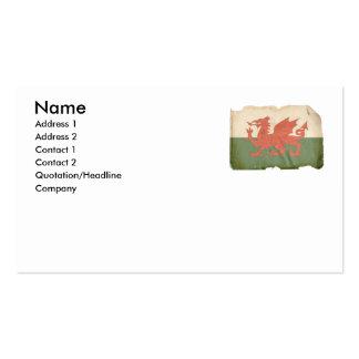 Welsh Flag Business Cards