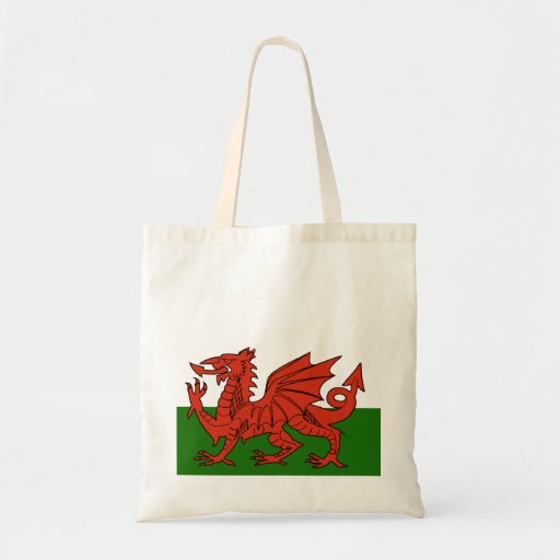 Welsh Flag Canvas Bags