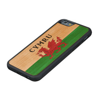 Welsh Flag Cherry iPhone 6 case. Carved® Cherry iPhone 6 Bumper