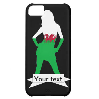 Welsh flag cover for iPhone 5C