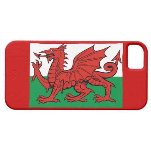 """Welsh flag, """"Cymru am byth"""", iPhone 5 Cover"""