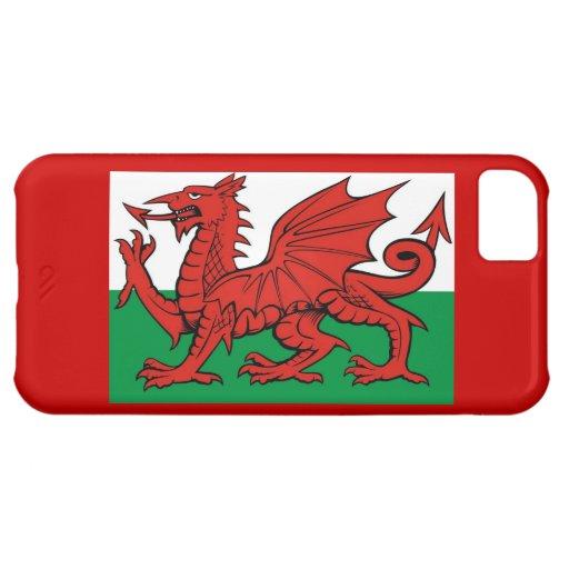 """Welsh flag, """"Cymru am byth"""", iPhone 5C Covers"""