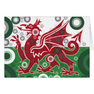 Welsh Flag Design Card