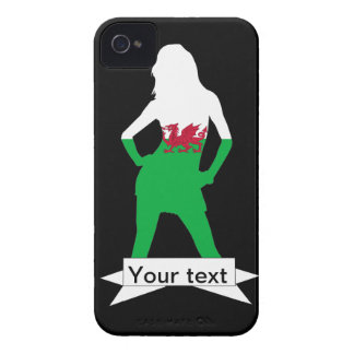 Welsh flag iPhone 4 case