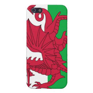 welsh flag iPhone case