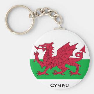 Welsh Flag Keychain