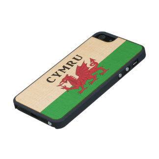 Welsh Flag maple iPhone 5 or iphone 5s case /cover Carved® Maple iPhone 5 Case