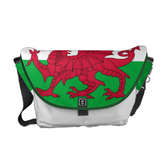 Welsh Flag Messenger Bag