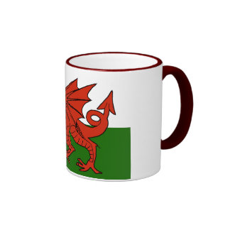 Welsh Flag Mugs