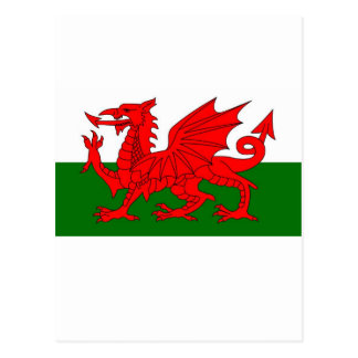 Welsh Flag Cards | Zazzle