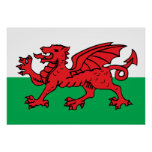 Welsh Flag Print