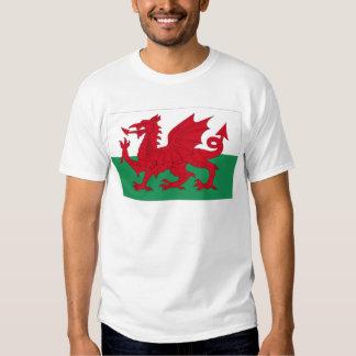Welsh Flag Tee Shirt
