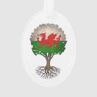 Welsh Flag Tree of Life Customizable