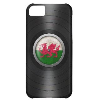 Welsh Flag Vinyl Record Album Graphic iPhone 5C Cover