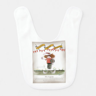 welsh football captain baby bib