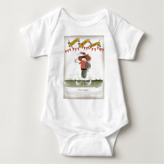 welsh football captain baby bodysuit