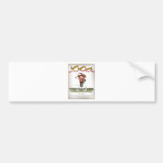 welsh football captain bumper sticker