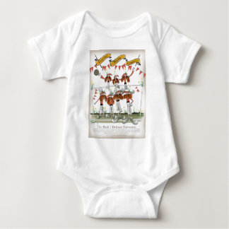 welsh football defenders baby bodysuit